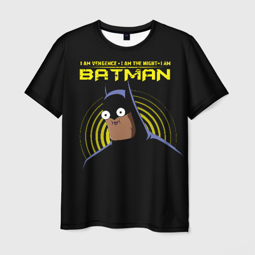 Мужская футболка 3D Лицо Справедливости