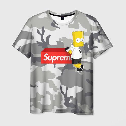 Мужская футболка 3D  Фото 01, Bart Supreme