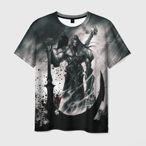 Мужская футболка 3D DARKSIDERS