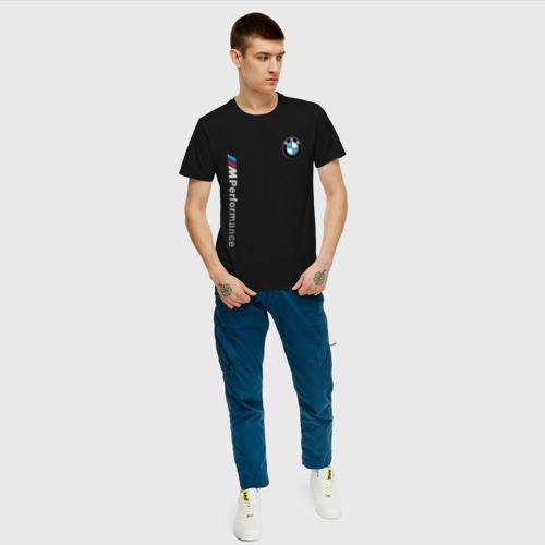 Мужская футболка хлопок BMW M PERFORMANCE Фото 01