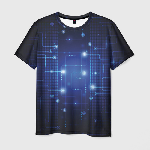 Мужская футболка 3D Технология