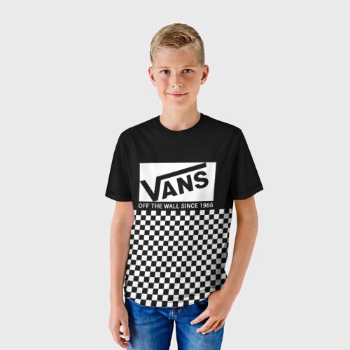 Детская футболка 3D VANS Off The Wall