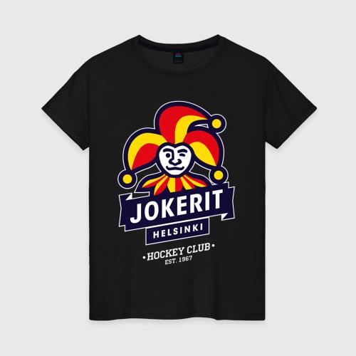 Женская футболка хлопок Йокерит ХК