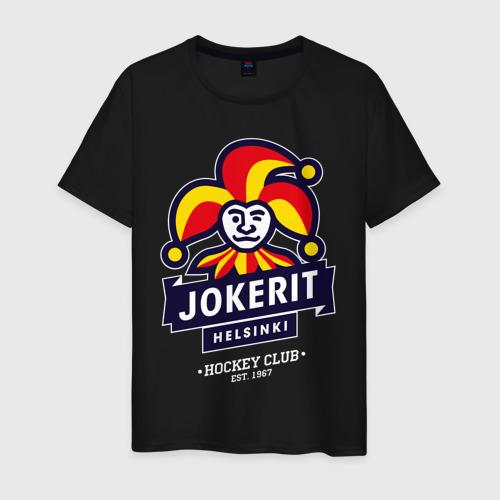 Мужская футболка хлопок Йокерит ХК