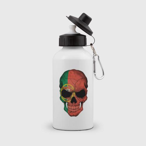 Бутылка спортивная Череп - Португалия