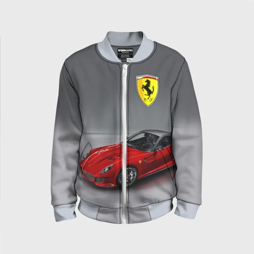 Детский бомбер 3D Ferrari
