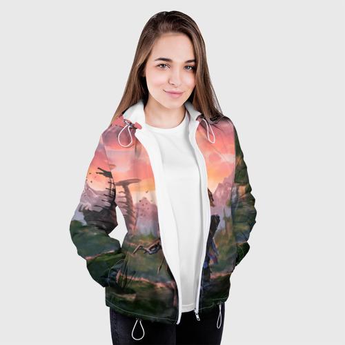 Женская куртка 3D Aloy HZD Фото 01