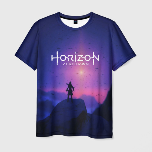 Мужская футболка 3D  Фото 03, HORIZON ZERO DAWN