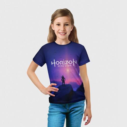 Детская футболка 3D  Фото 03, HORIZON ZERO DAWN