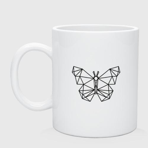 Полигональная бабочка