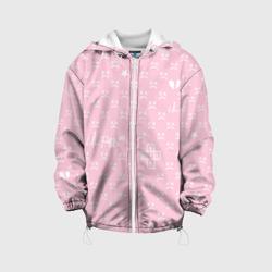 Lil Peep pink pattern