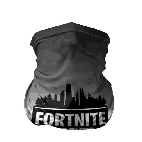 Fortnite City Silhouette