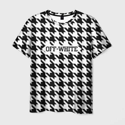 Мужская футболка 3D  Фото 01, Off-White