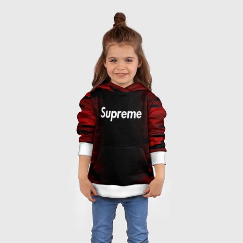 SUPREME BLACK RED MILITARY