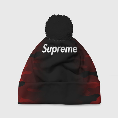SUPREME BLACK RED MILITARY