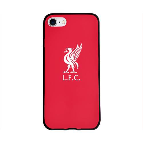 Чехол для Apple iPhone 8 силиконовый глянцевый FC Liverpool Фото 01