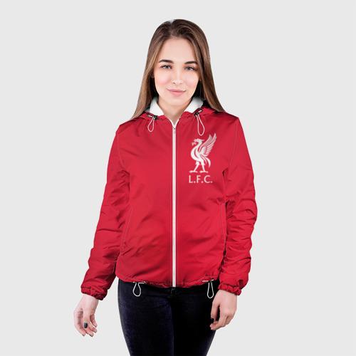 Женская куртка 3D FC Liverpool Фото 01
