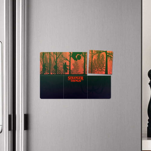 Магнитный плакат 3Х2 Очень странные дела Фото 01