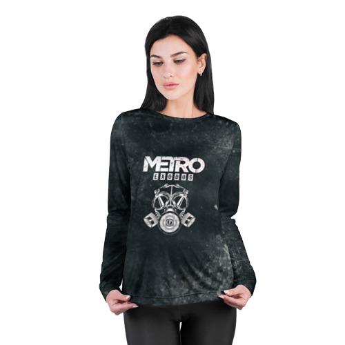 Женский лонгслив 3D для беременных Metro Exodus Фото 01