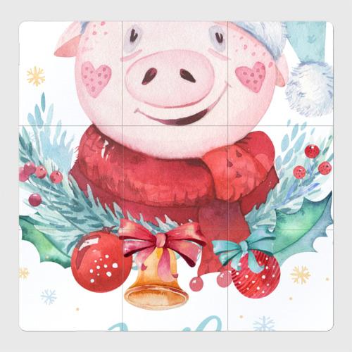 Магнитный плакат 3Х3 Новый год!