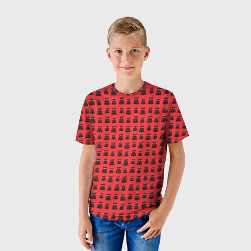 Детская футболка 3D  Фото 01, Валерка Ниндзя