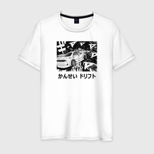 Мужская футболка хлопок Kansei dorifto Фото 01