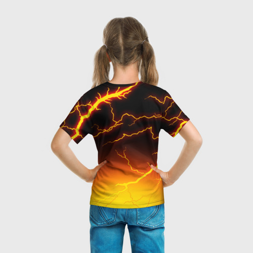 Детская футболка 3D FORTNITE FIRESTORM | ФОРТНАЙТ ШТОРМ Фото 01