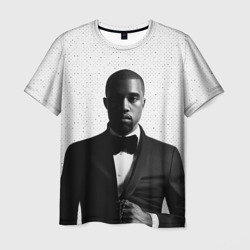 Kanye West Halftone