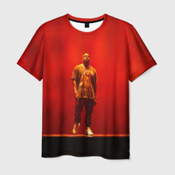 Kanye West Red On Stage