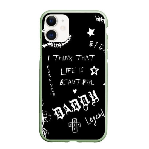 Чехол для iPhone 11 матовый Life is beautiful Фото 01