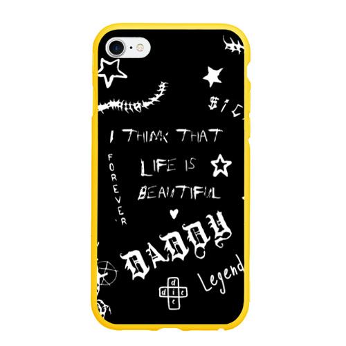 Чехол для iPhone 6/6S матовый Life is beautiful Фото 01