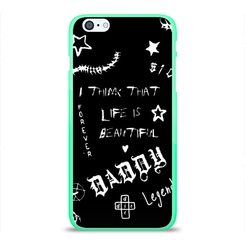 Чехол для iPhone 6Plus/6S Plus глянцевый Life is beautiful Фото 01