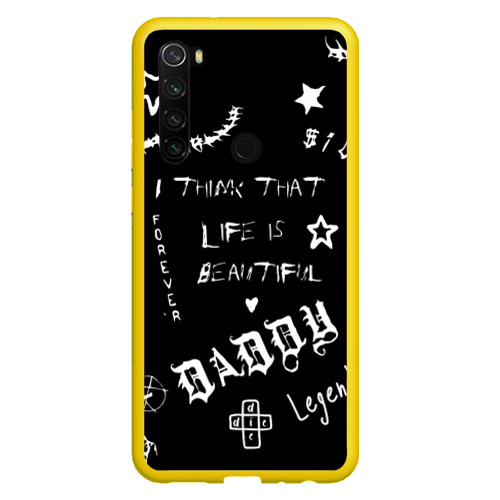Чехол для Xiaomi Redmi Note 8 Life is beautiful Фото 01