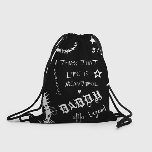 Рюкзак-мешок 3D Life is beautiful Фото 01