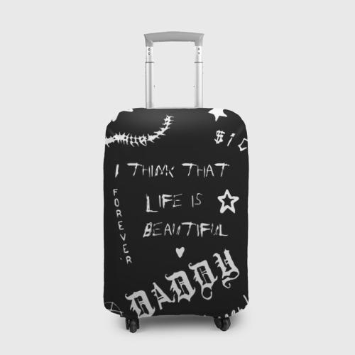 Чехол для чемодана 3D Life is beautiful Фото 01