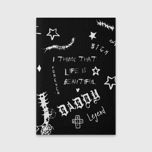 Обложка для паспорта матовая кожа Life is beautiful Фото 01