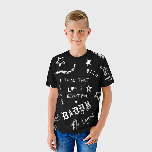 Детская футболка 3D Life is beautiful Фото 01