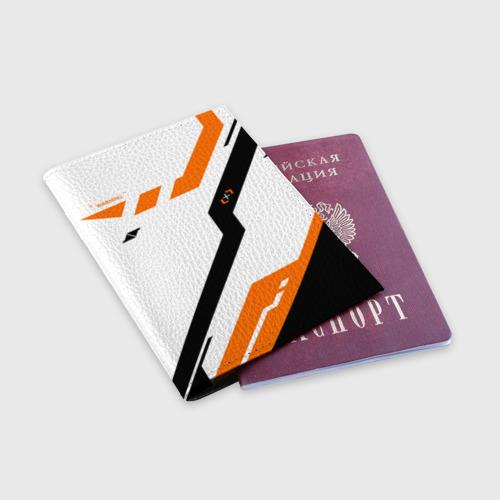 Обложка для паспорта матовая кожа cs:go - Asiimov NEW (2019) Фото 01