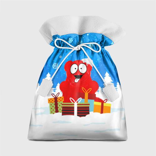 Подарочный 3D мешок Валерка любит подарки