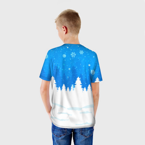 Детская футболка 3D  Фото 02, Валерка любит подарки