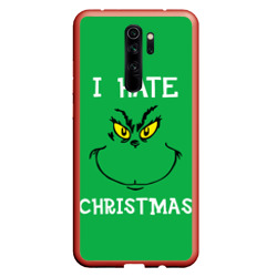 Чехол для Xiaomi Redmi Note 8 Pro I hate christmas
