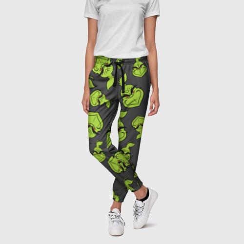 Женские брюки 3D The Grinch Фото 01