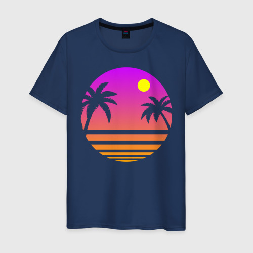 Мужская футболка хлопок Tequila Sunset Фото 01