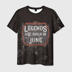 Legends Are Born In June
