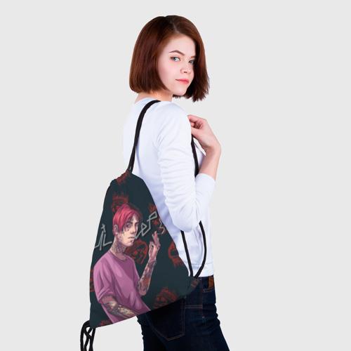 Рюкзак-мешок 3D Лил Пип Фото 01