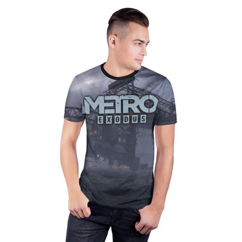 Мужская футболка 3D спортивная Metro Exodus Фото 01