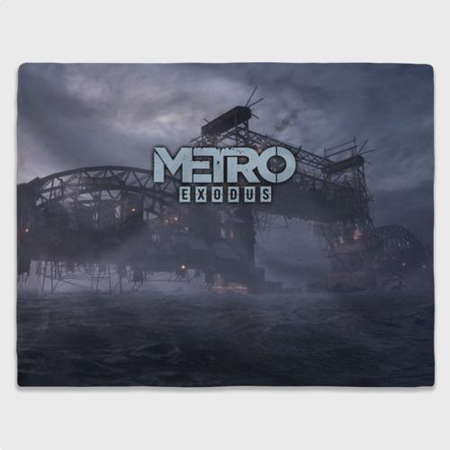 Плед 3D Metro Exodus Фото 01