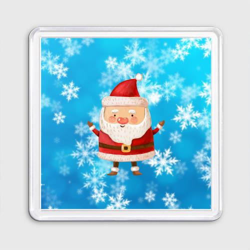 Милый Санта Клаус вязанный