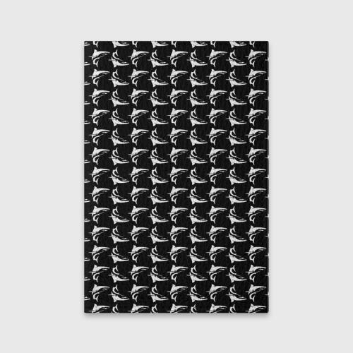 Обложка для паспорта матовая кожа Shark Фото 01
