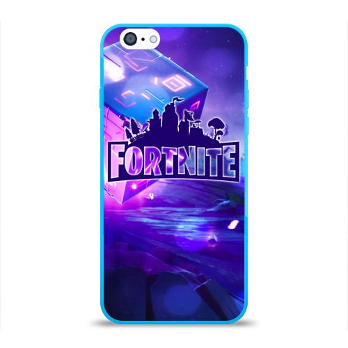 Чехол для Apple iPhone 6 силиконовый глянцевый Fortnite Фото 01